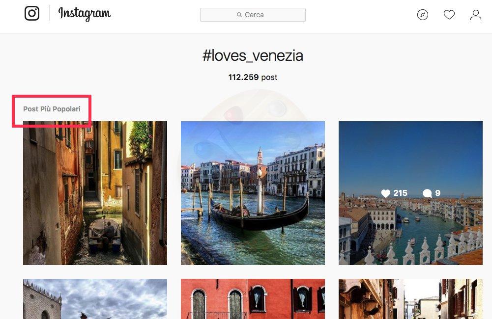 Come aumentare i like su instagram - post popolari