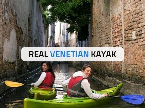 Real Venetian Kayak Venezia