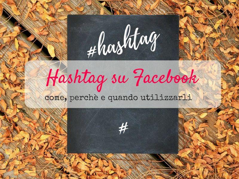 Hashtag su Facebook
