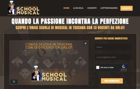 I want you musical school