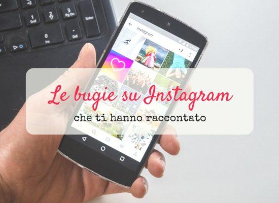bugie su instagram