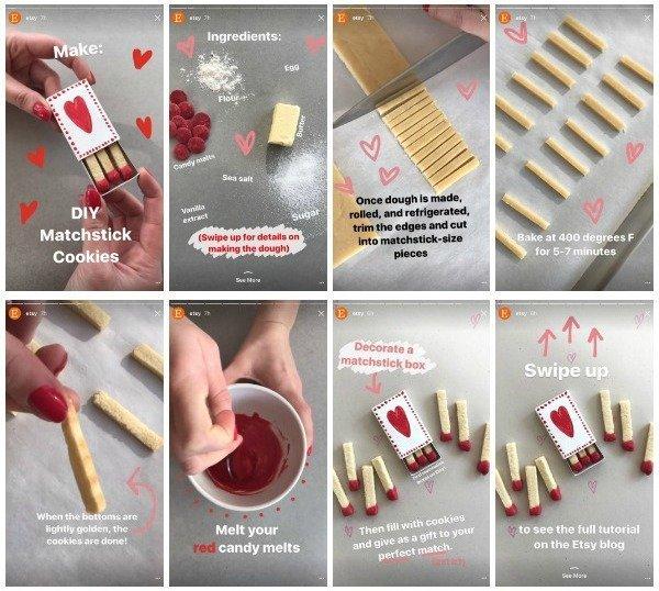 visual storytelling instagram stories