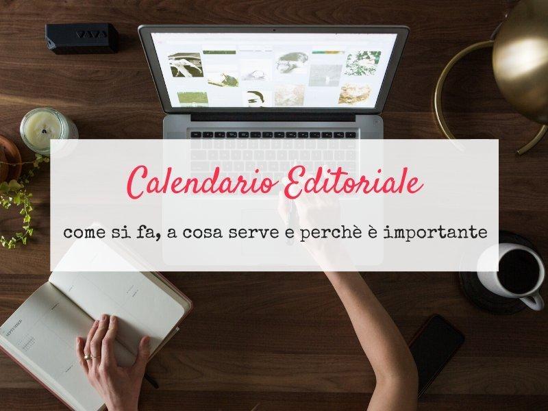 Calendario editoriale excel